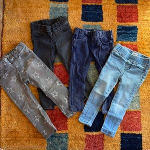 Bundle of 24 mo/2T Jeans